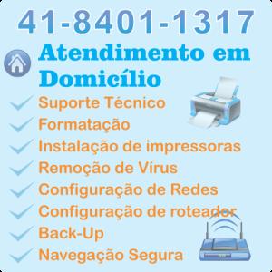 Tecnico informatica para internet Curitiba